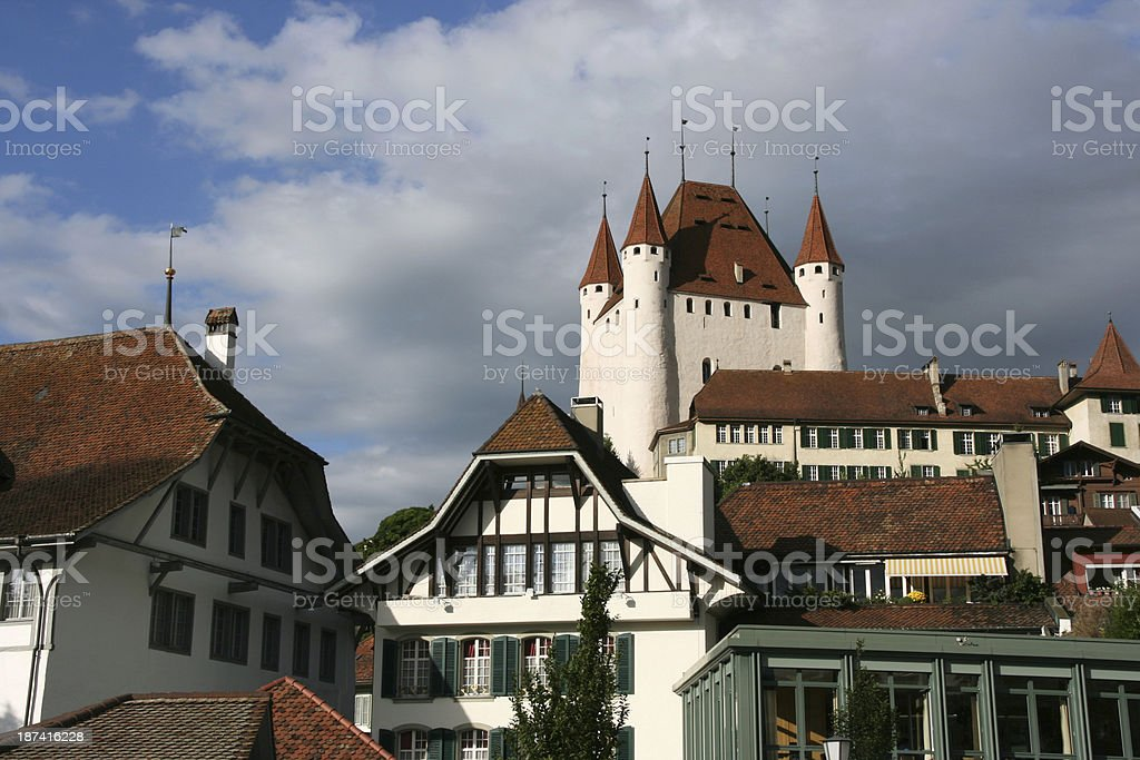 Switzerland - Thun stock photo