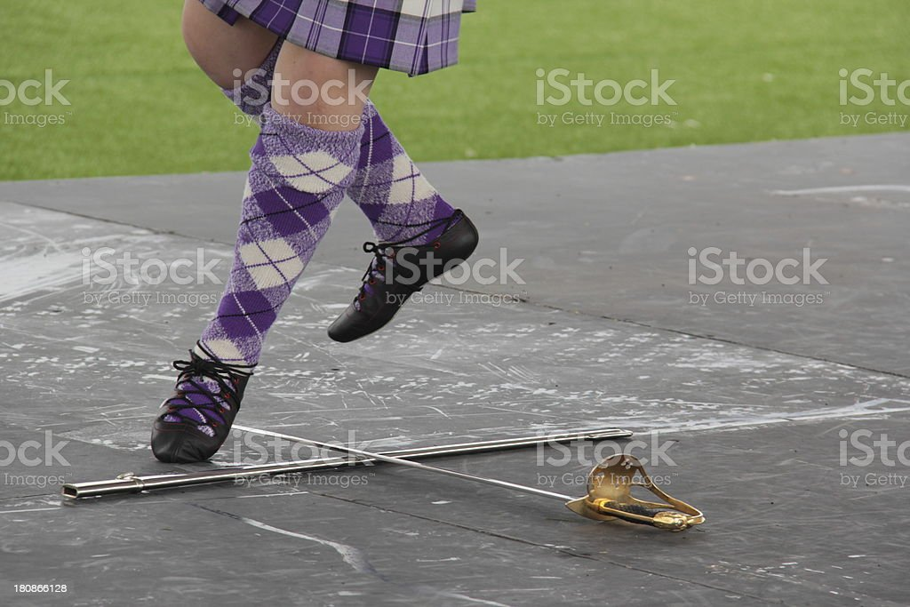 Sword Dance stock photo