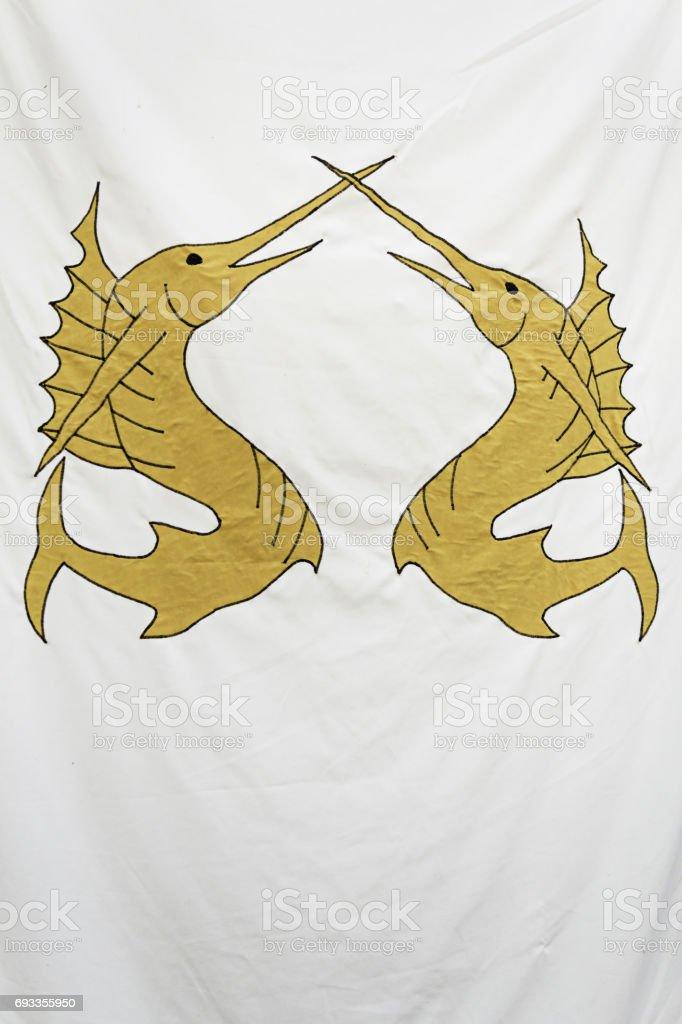 Sword fish stock photo