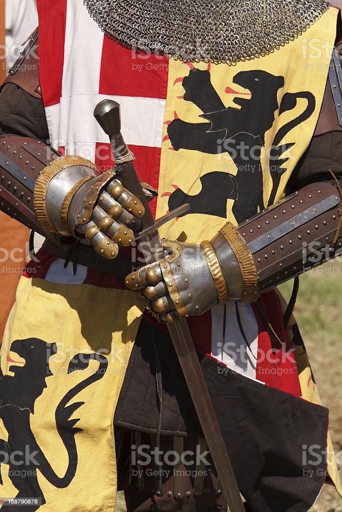 Sword Knight royalty-free stock photo