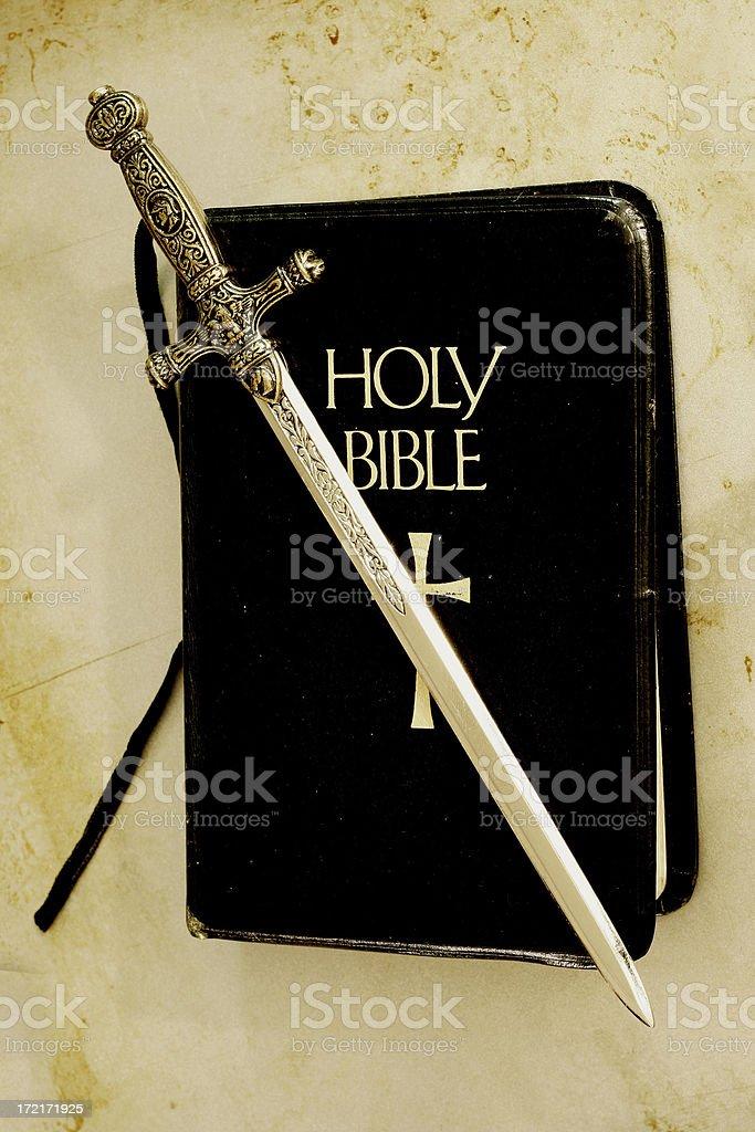 Sword of God royalty-free stock photo