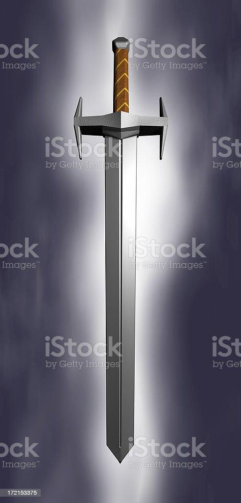 Sword royalty-free stock photo