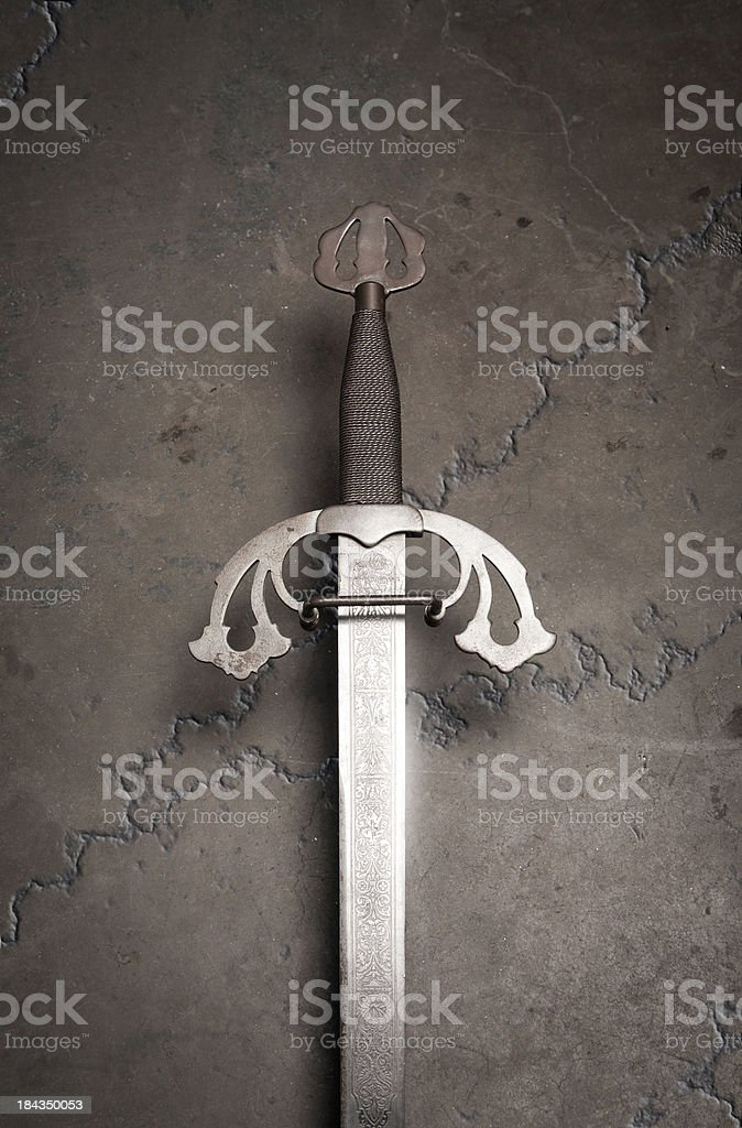 Sword stock photo