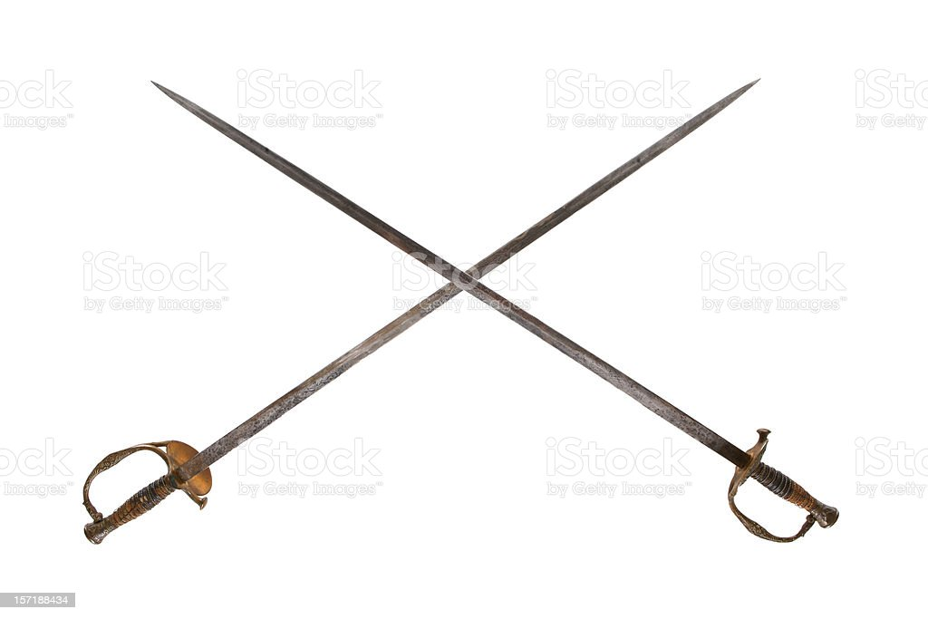 Swords stock photo