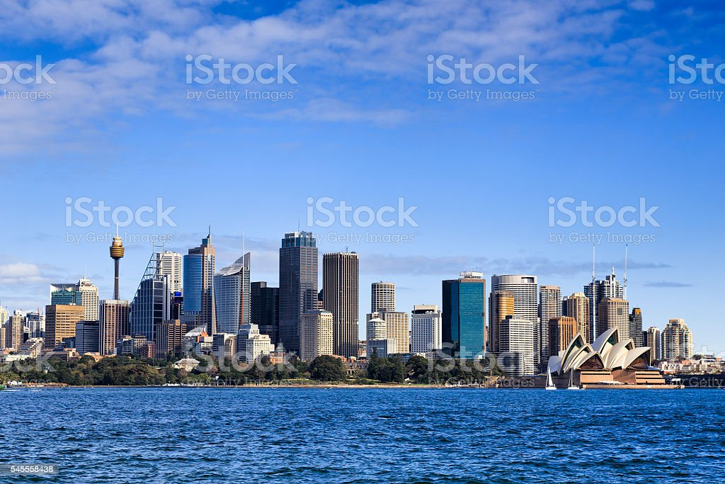 Sy CBD from Cremorne Day stock photo