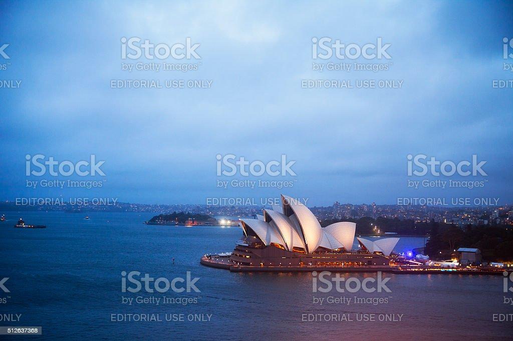 Sydnay Opera House, Australia stock photo