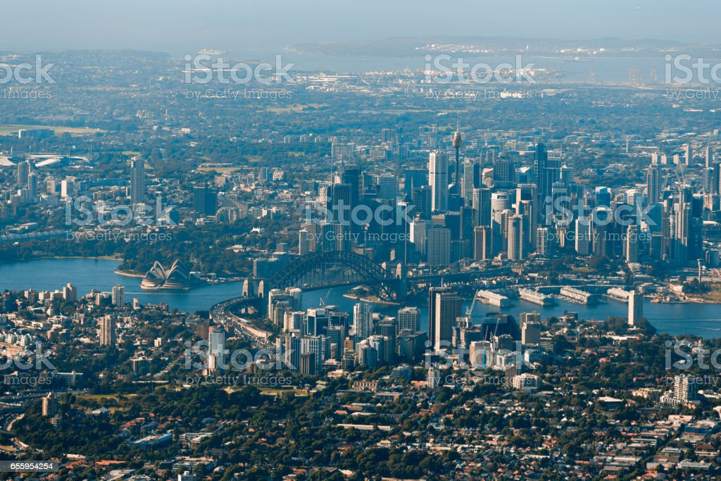 Sydney Aerial stock photo
