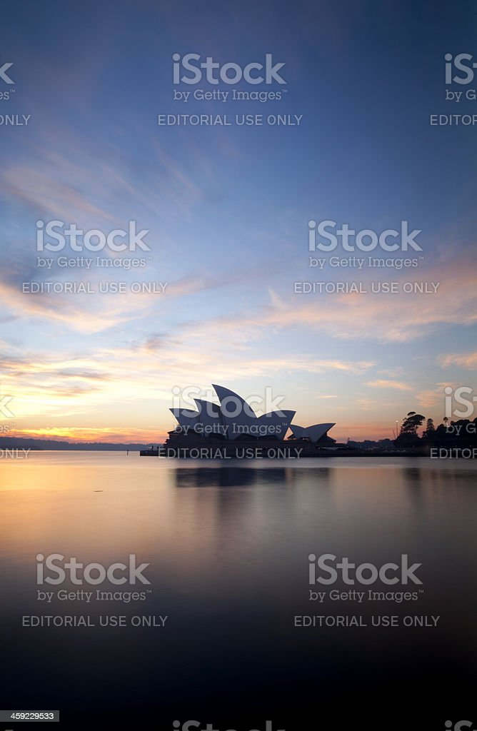Sydney At Dawn royalty-free stock photo