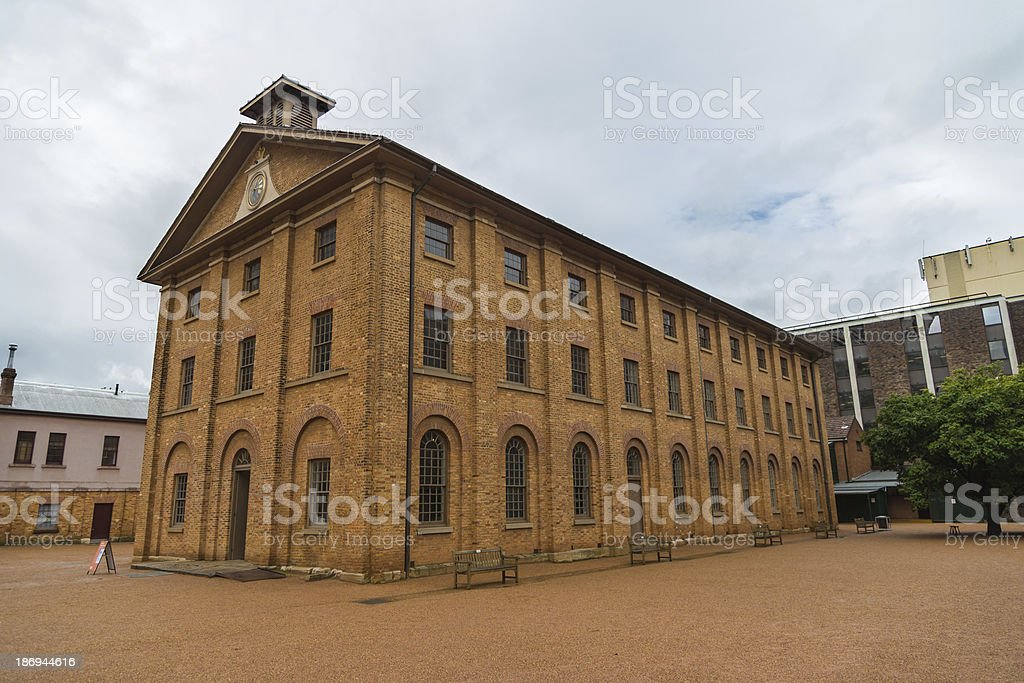 Sydney Barracks stock photo