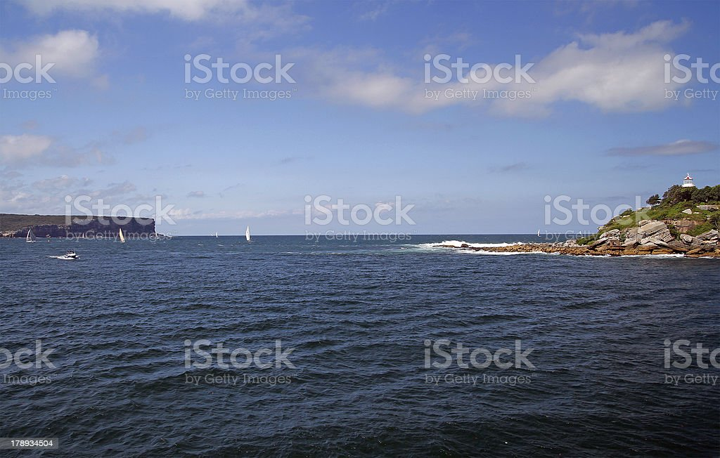 Sydney bay royalty-free stock photo