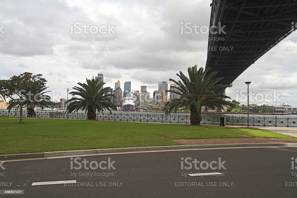 Sydney Bridge royalty-free stock photo