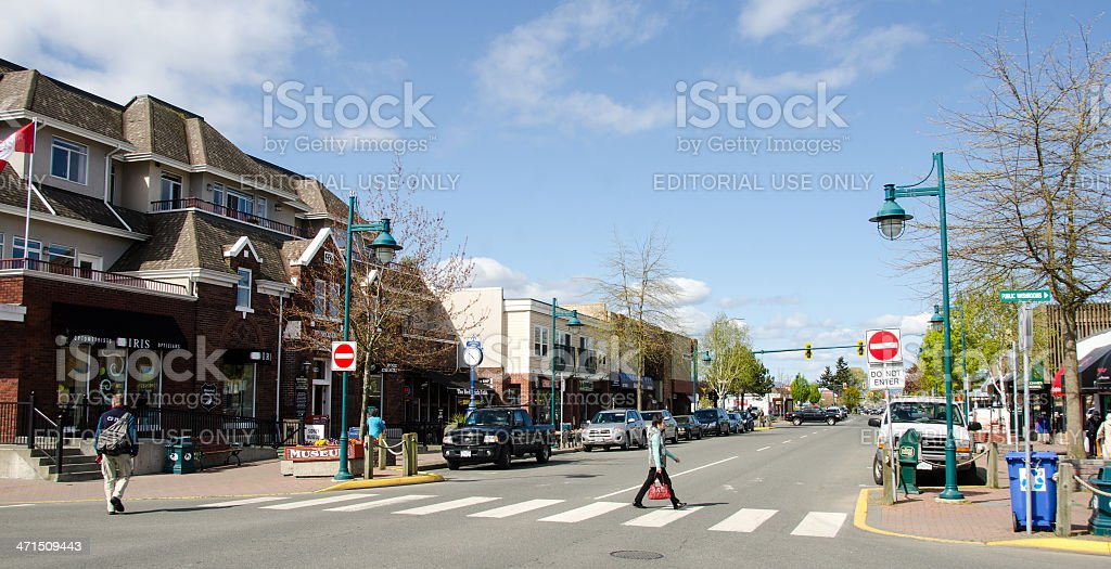 Sydney, British Columbia royalty-free stock photo