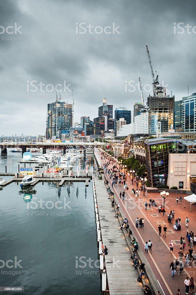 Sydney CBD and Darling Harbor stock photo