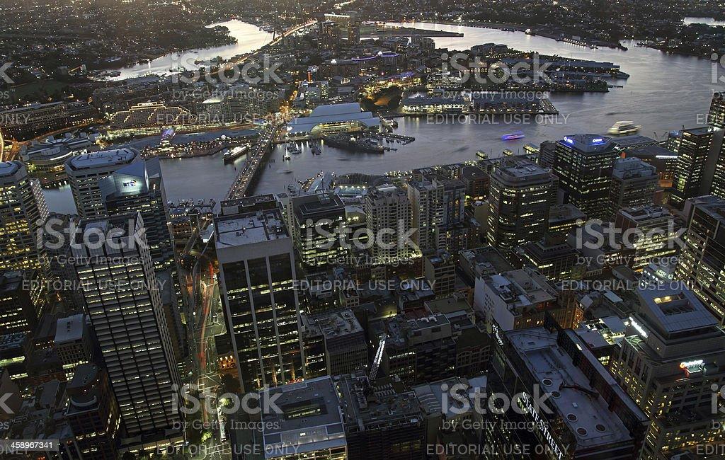 Sydney CBD royalty-free stock photo