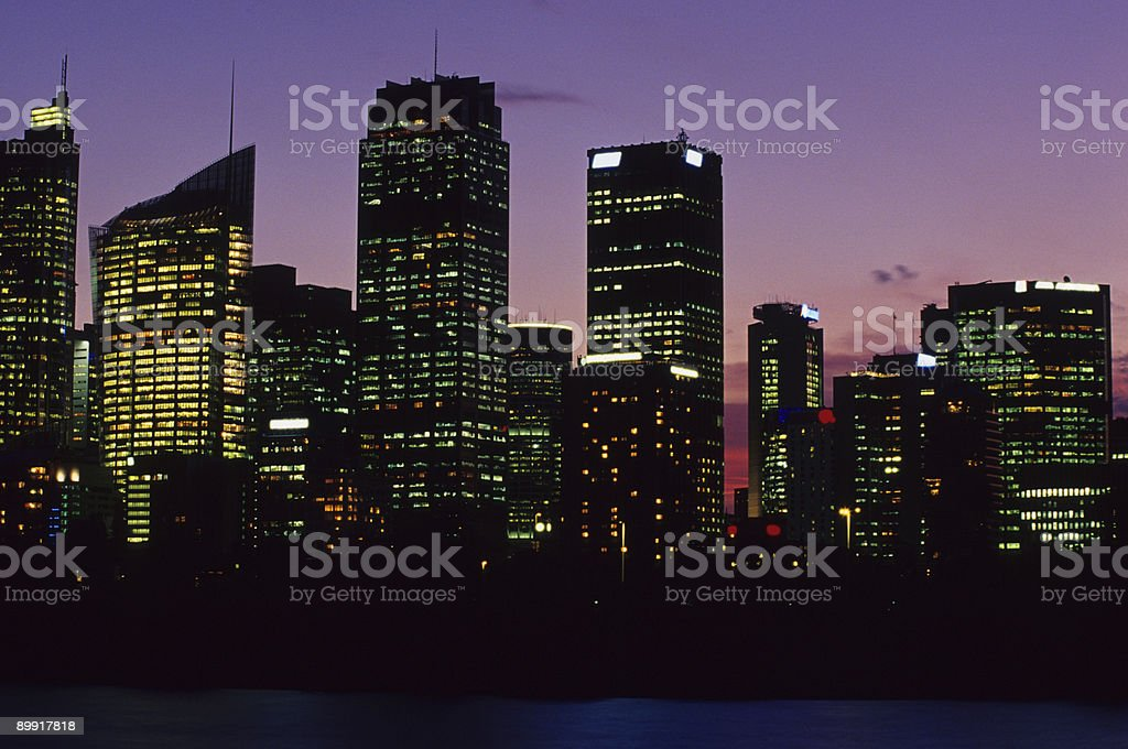 Sydney Central Business District, Australia royalty-free stock photo