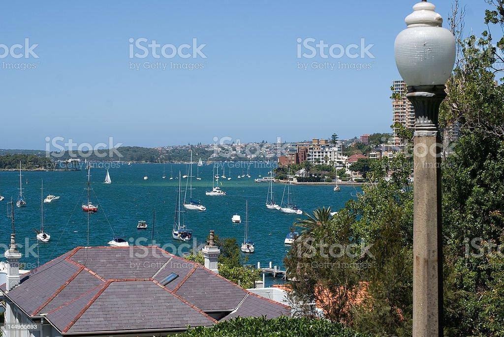 Sydney city seafront royalty-free stock photo