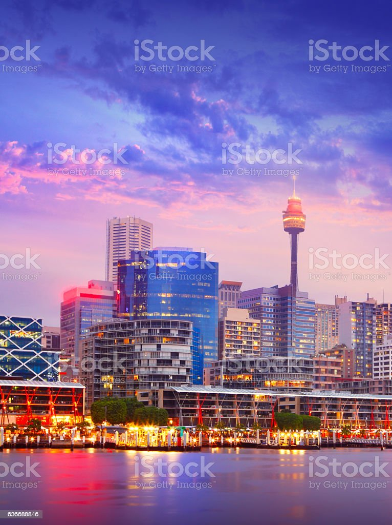Sydney Darling Harbor stock photo