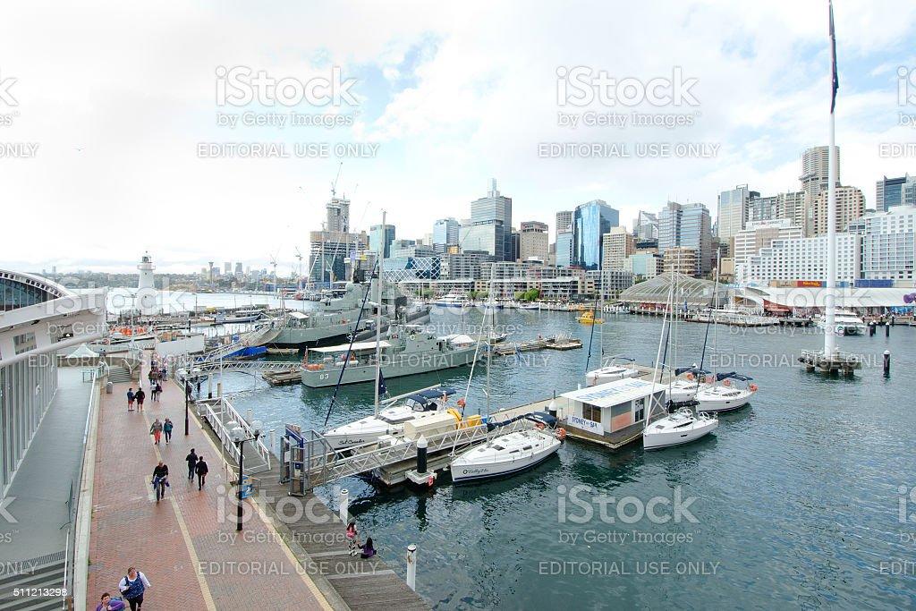Sydney Darling Harbour, Australia stock photo