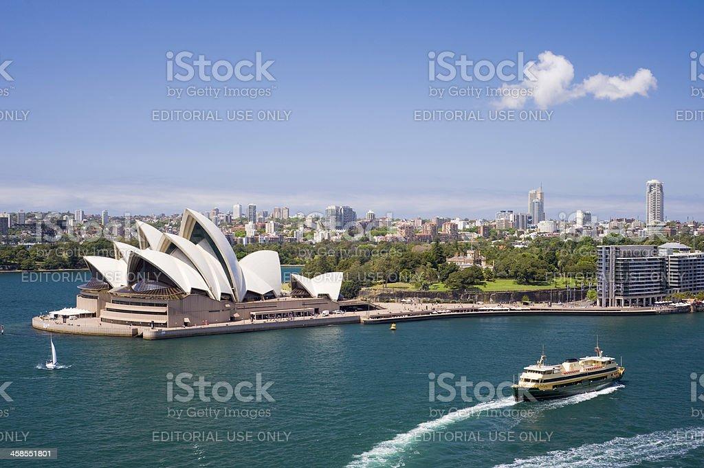 Sydney Downtown City Skyline in Australia royalty-free stock photo