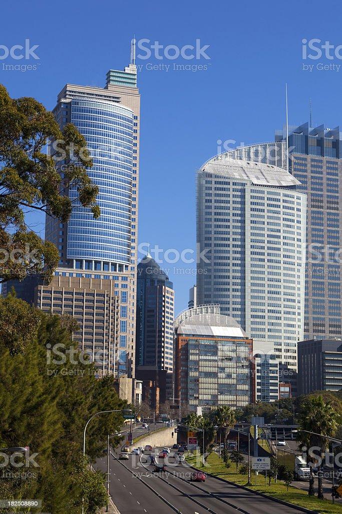 Sydney Expressway royalty-free stock photo