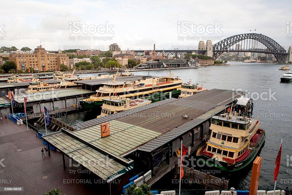 Sydney Ferries stock photo