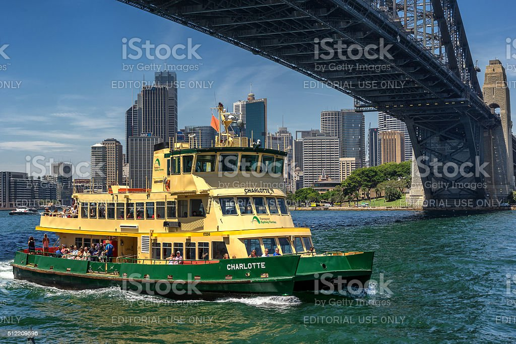 Sydney Ferry stock photo