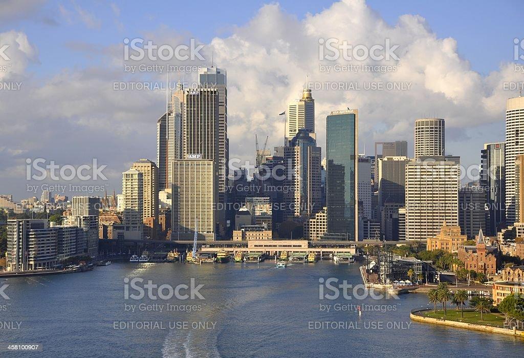Sydney Ferry Terminal royalty-free stock photo