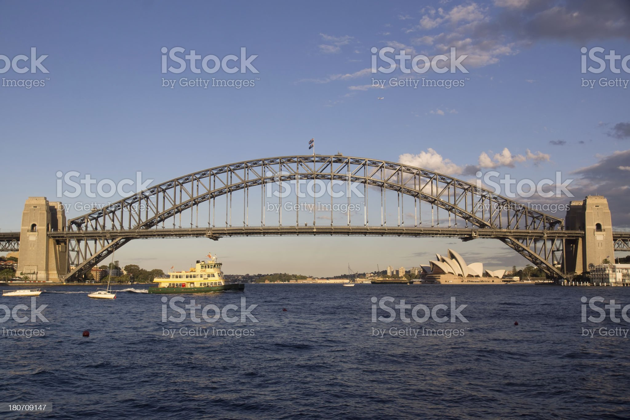 Sydney from McMahons Point - Day royalty-free stock photo