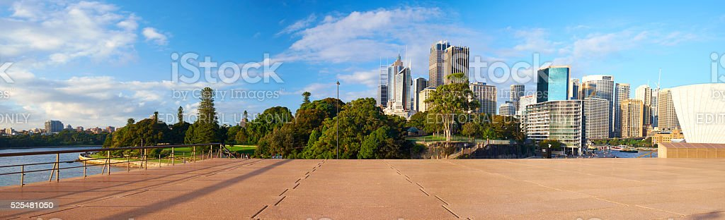 Sydney From The Opera House stock photo