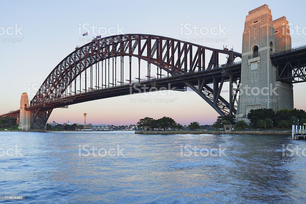 Sydney Harbor Bridge royalty-free stock photo