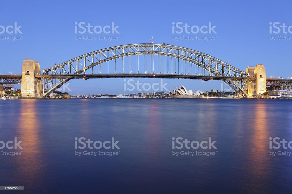 Sydney Harbor Bridge stock photo