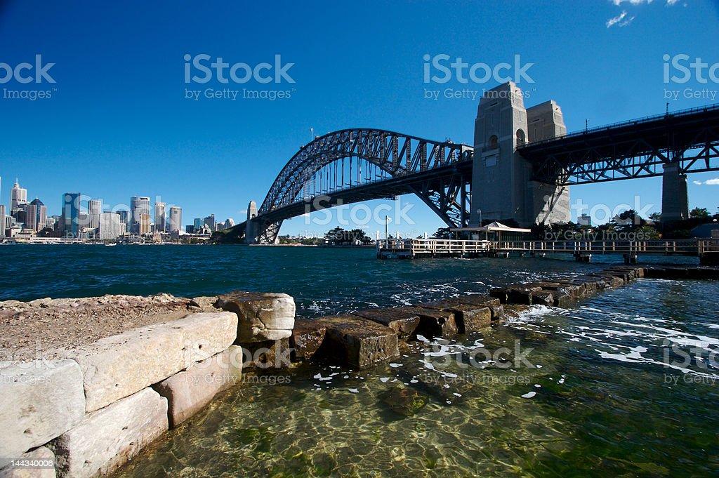 Sydney Harbor royalty-free stock photo