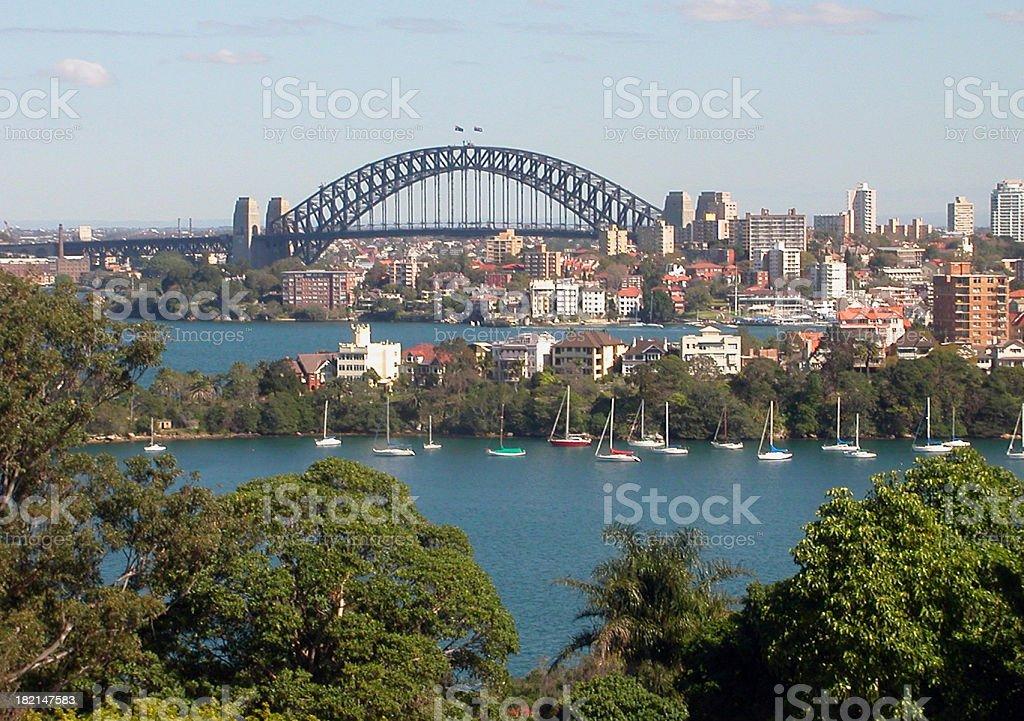 Sydney Harbour 1 royalty-free stock photo