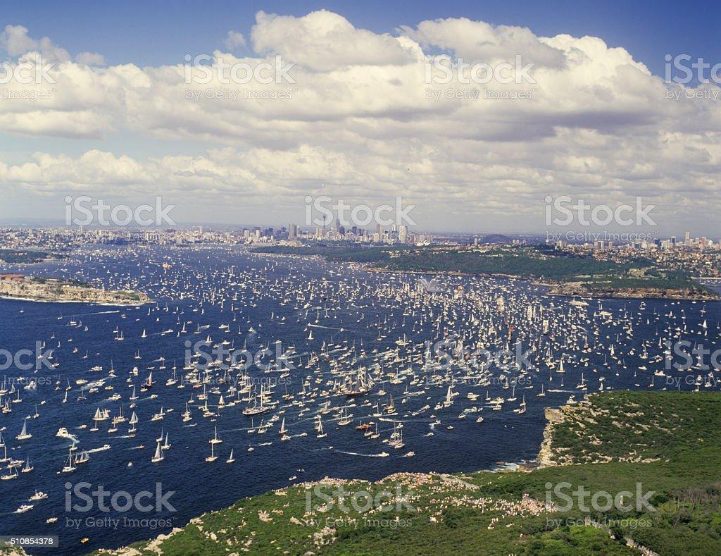 Sydney harbour Australia stock photo