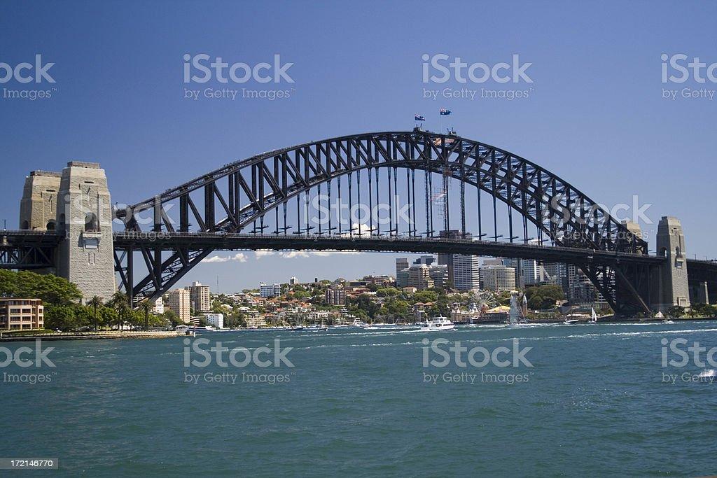Sydney Harbour Bridge, Australia royalty-free stock photo
