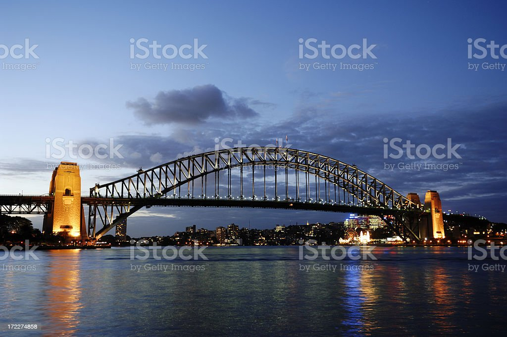 Sydney - Harbour bridge, Australia royalty-free stock photo