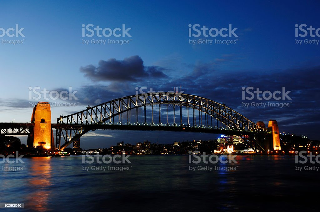 Sydney - Harbour bridge, Australia royalty-free stock photo
