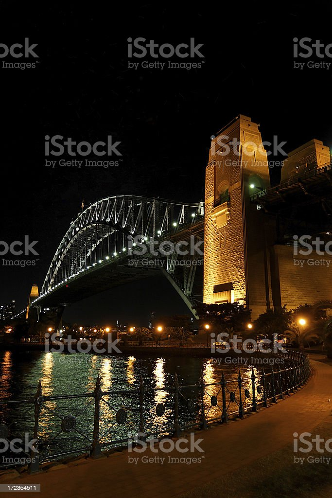 Sydney Harbour Bridge royalty-free stock photo