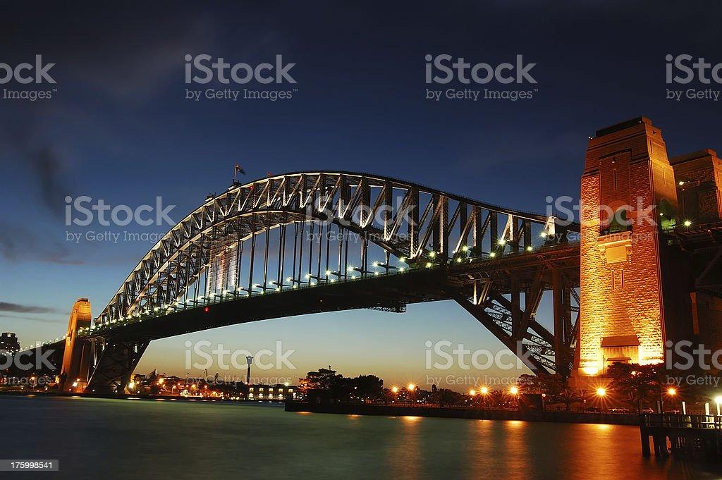Sydney - Harbour Bridge stock photo