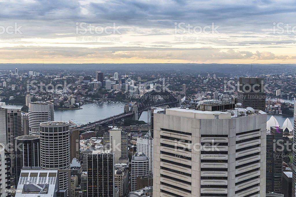 Sydney Harbour Bridge royalty-free stock photo