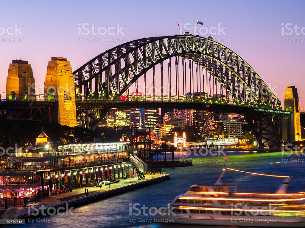 Sydney Harbour Bridge stock photo