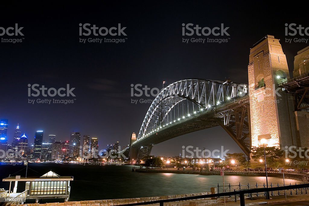 Sydney Harbour Cityscape stock photo