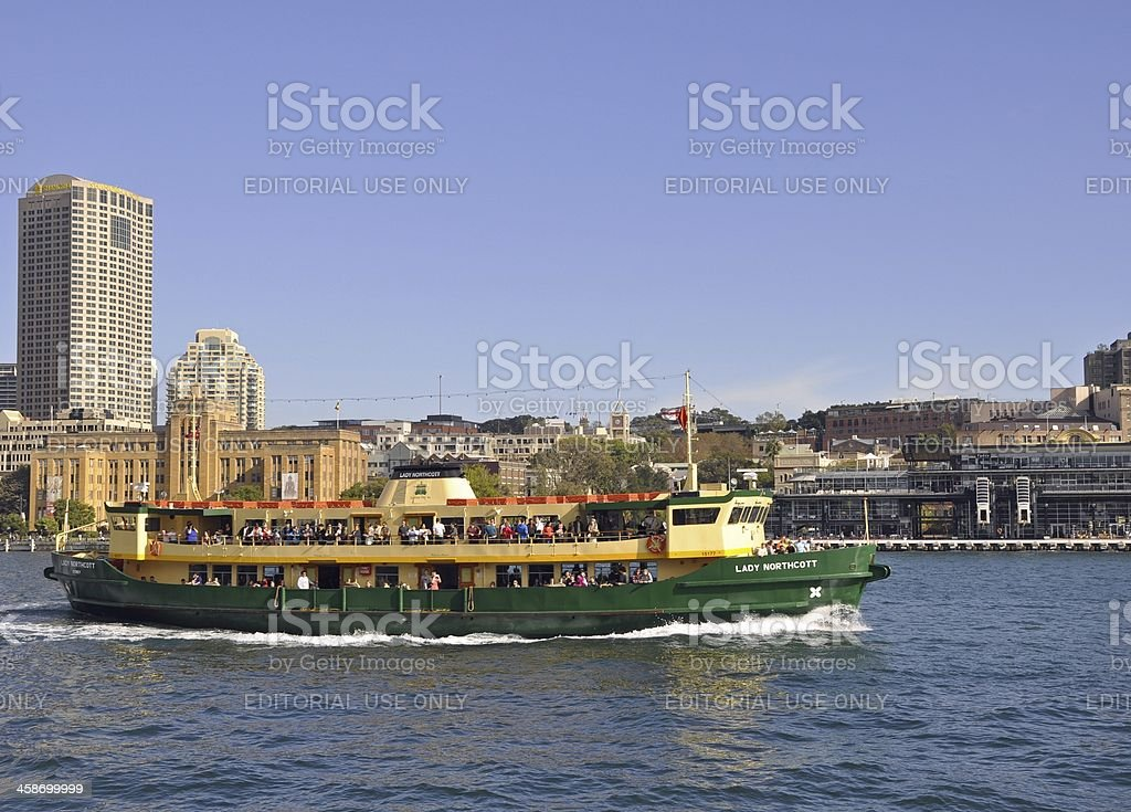 Sydney Harbour Ferry royalty-free stock photo