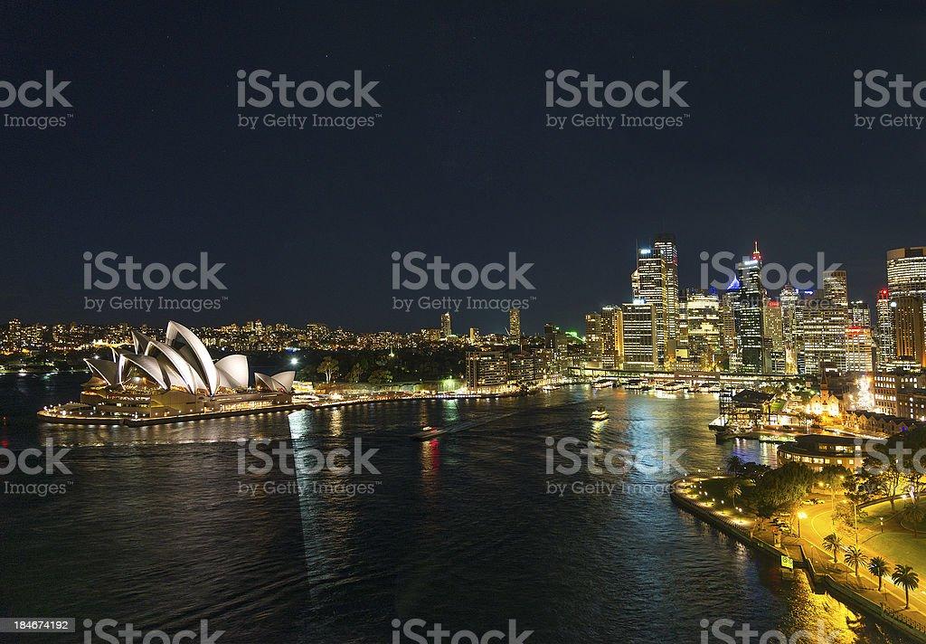 sydney harbour in australia royalty-free stock photo