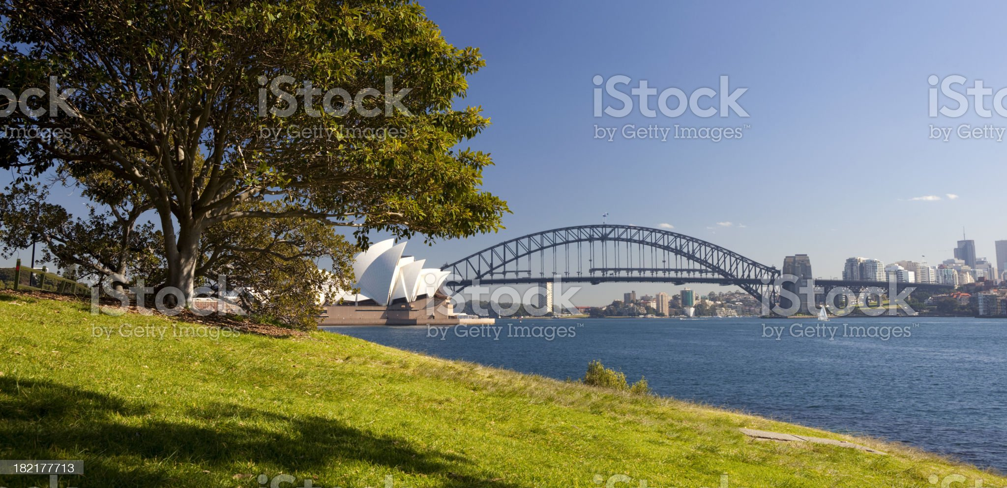 Sydney Harbour In The Sun royalty-free stock photo