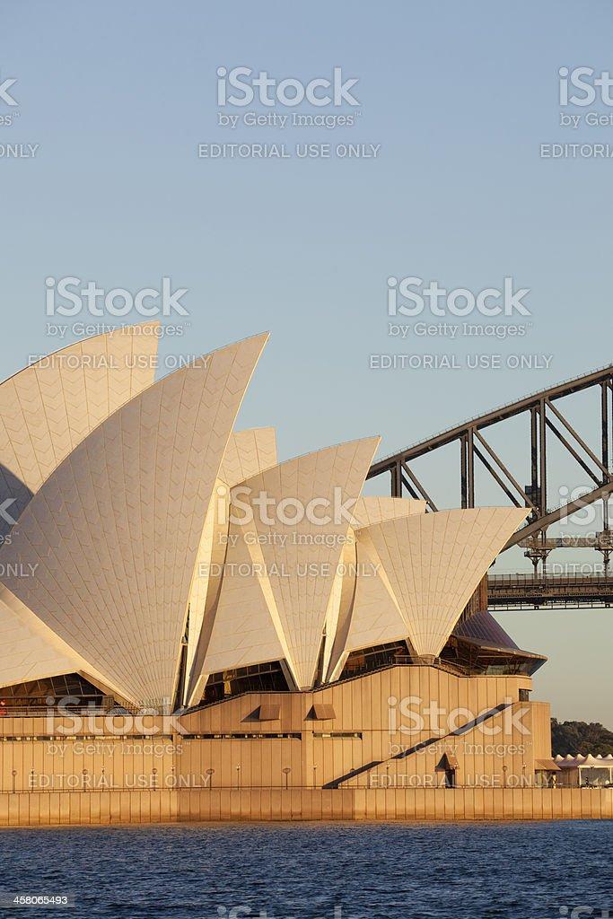 Sydney Harbour Landmarks royalty-free stock photo