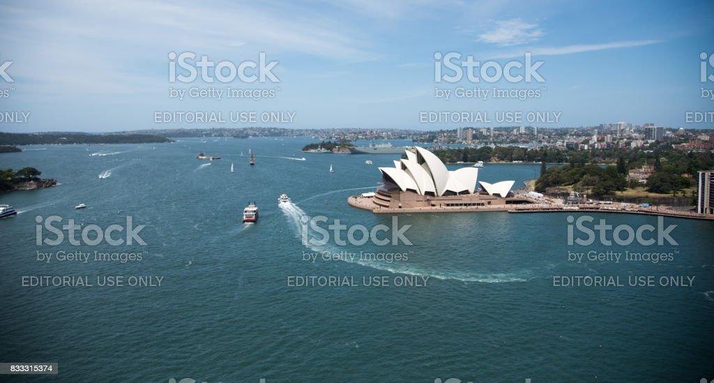 Sydney Harbour Landscape stock photo