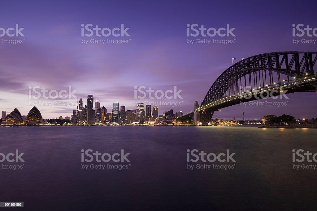 Sydney Harbour Morning royalty-free stock photo