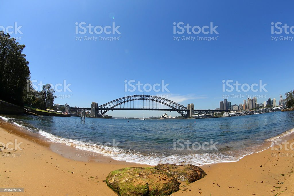 Sydney Harbour, New South Wales, Australia royalty-free stock photo