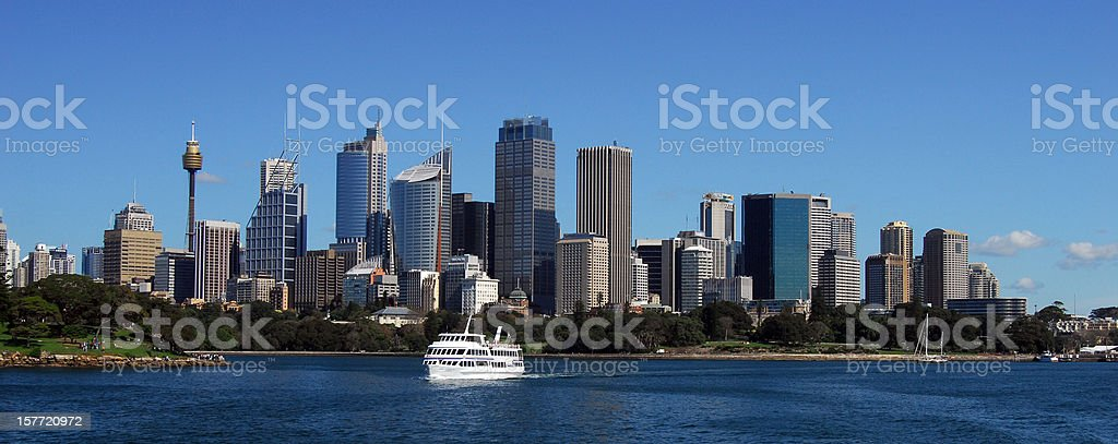 Sydney Harbour panoramic royalty-free stock photo